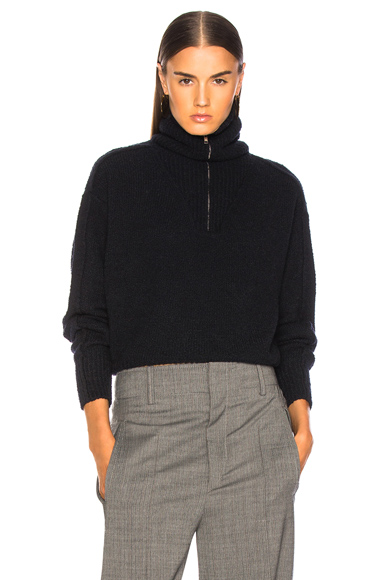 ISABEL MARANT | Isabel Marant Fancy Sweater In Blue. - Size 38 (Also In ) | Goxip