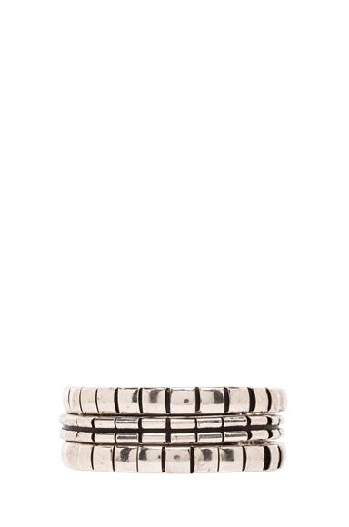ISABEL MARANT | Cruz Bracelet in Black & Silver
