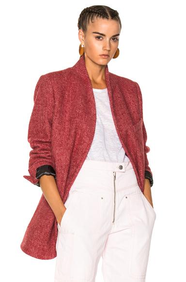 Isabel Marant Elis Jacket in Red