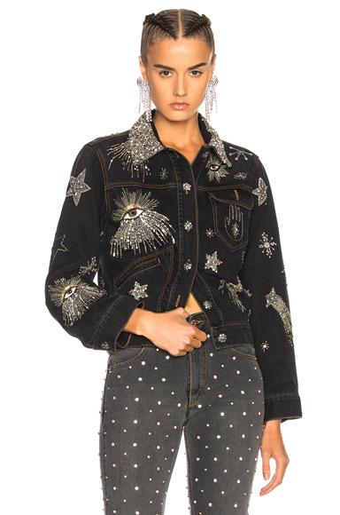 Isabel Marant Eloise Jacket in Black, Gray