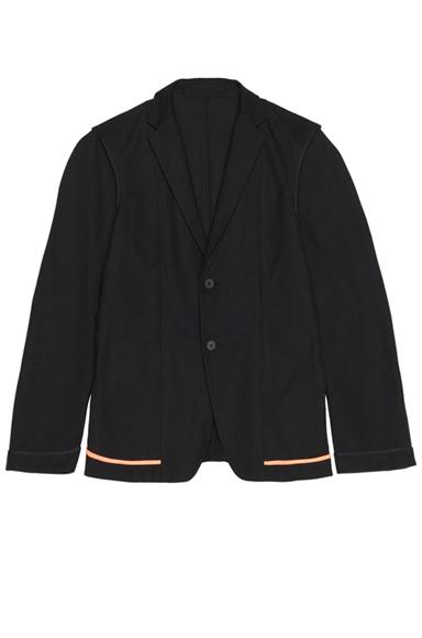 JIL SANDER   Clio Poly-Blend Jacket in Black