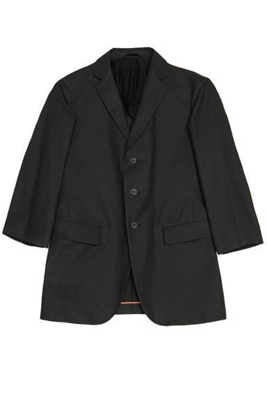 JIL SANDER | Corinne Linen-Blend Jacket in Black