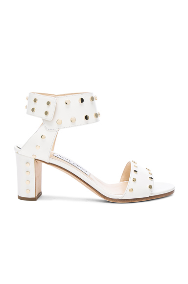 Photo of Jimmy Choo Veto Heel in White online womens shoes sales