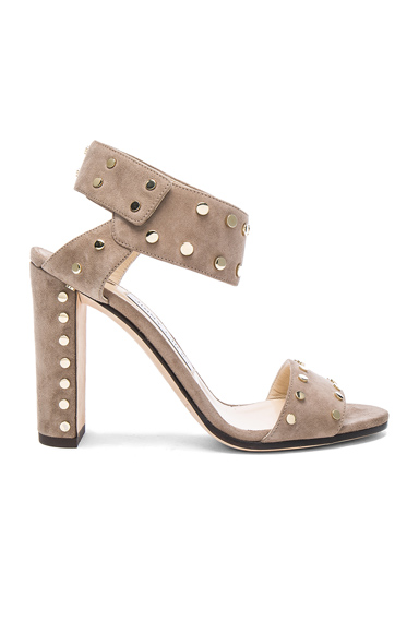 Jimmy Choo Veto Heel in Neutrals