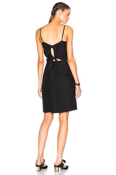 Photo of Jenni Kayne Tie Back Dress in Black online womens dresses sales