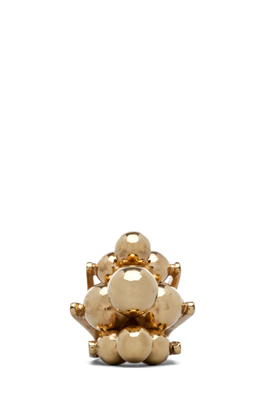 KELLY WEARSTLER | Cluster Ring in Gold Plated Brass