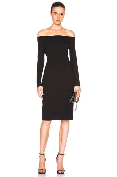L'AGENCE Daphne Dress in Black