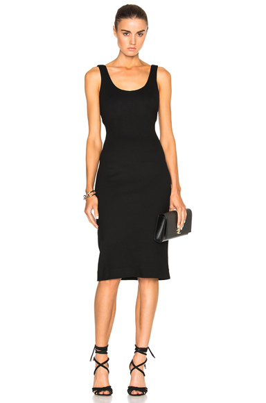 L'AGENCE Roxanne Dress in Black