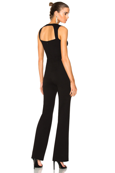 L'AGENCE Shay Jumpsuit in Black