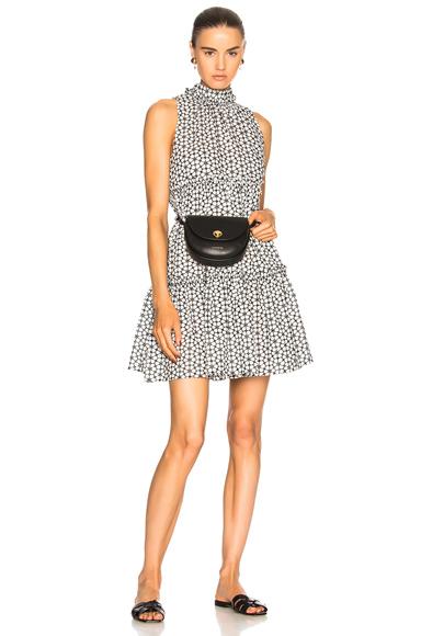Lisa Marie Fernandez Erica Daisy Dress in Black, Floral, White