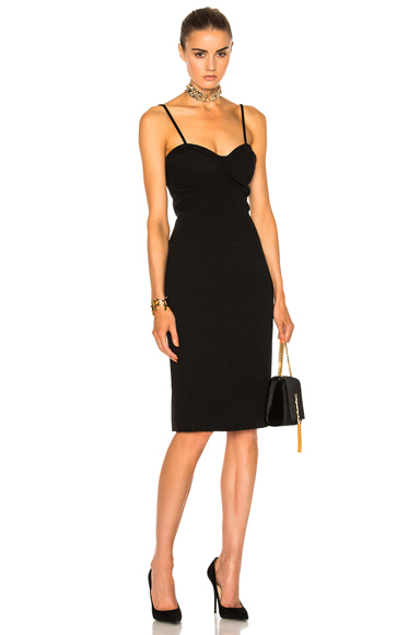 Lanvin Corset Dress in Black