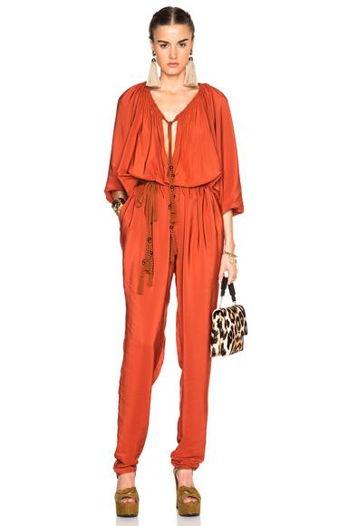 Lanvin Jumpsuit in Orange