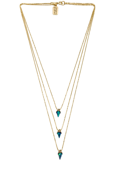 LIONETTE BY NOA SADE | Avish Necklace in Blue