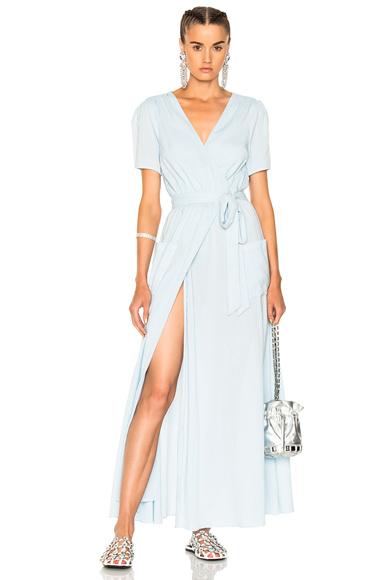 LPA for FWRD Dress 530 in Blue