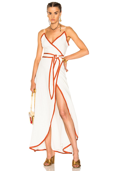 LPA for FWRD Dress 531 in White