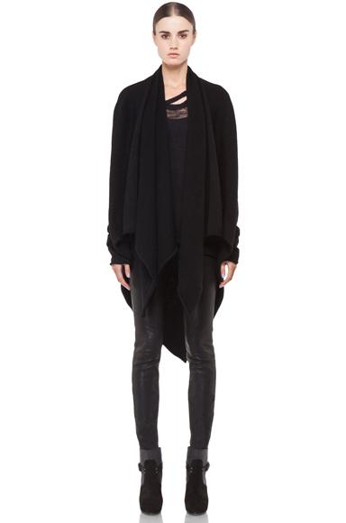 Lars Andersson Tail Coat Wrap in Black   FWRD [1]