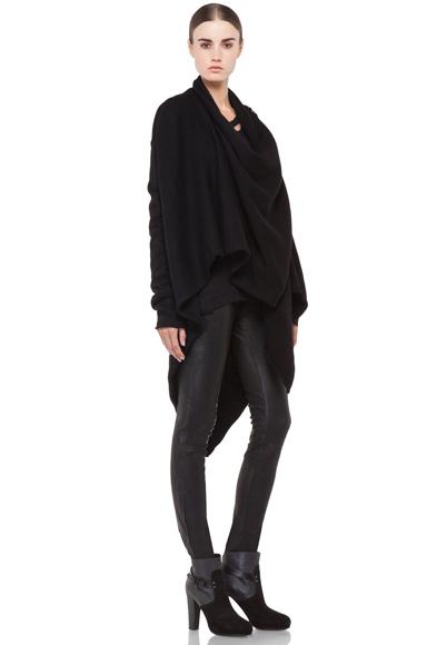 Lars Andersson Tail Coat Wrap in Black   FWRD [4]