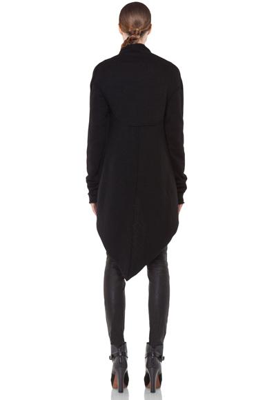 Lars Andersson Tail Coat Wrap in Black   FWRD [5]