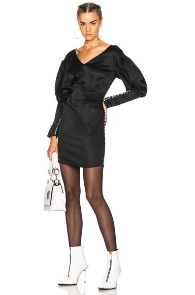 Magda Butrym Ecija Dress in Black