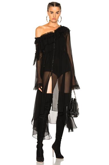 Magda Butrym for FWRD Saragossa Dress in Black