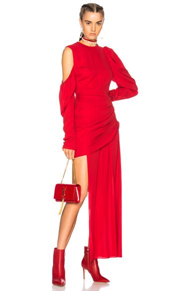 Magda Butrym Sevilla Dress in Red