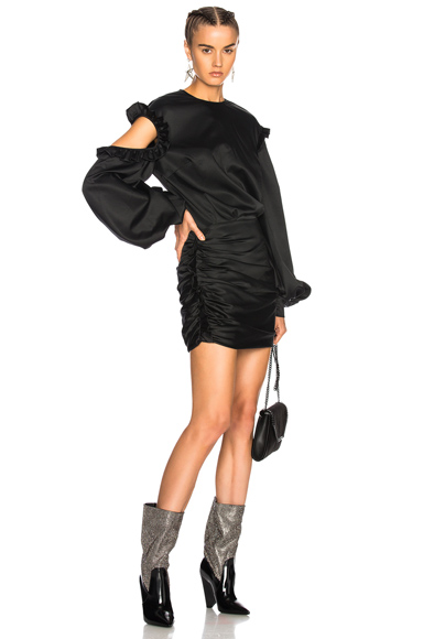 Magda Butrym Acapulco Dress in Black