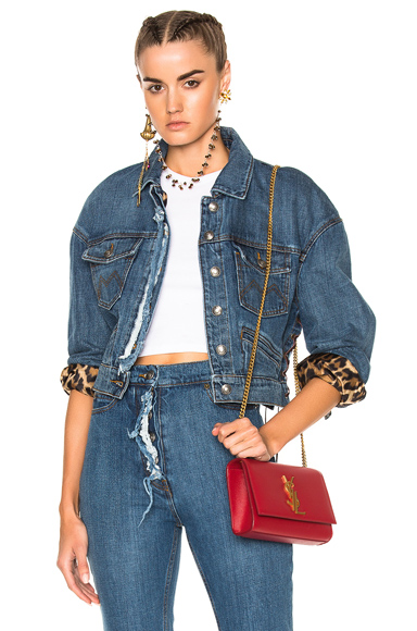 Magda Butrym Arizona Jacket in Blue