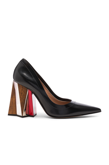 Marni Leather Pumps in Black