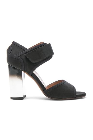 Marni Block Heel Sandals in Black