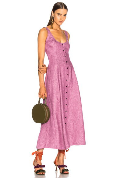 Mara Hoffman Ophelia Dress in Purple