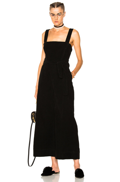 Mara Hoffman Idola Jumpsuit in Black