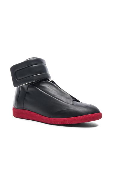 Maison Margiela Calfskin Future High Tops in Black. - size 42 (also in )