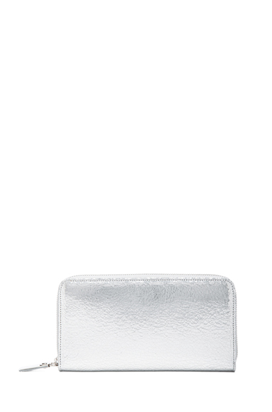 MAISON MARTIN MARGIELA | Large Wallet in Silver