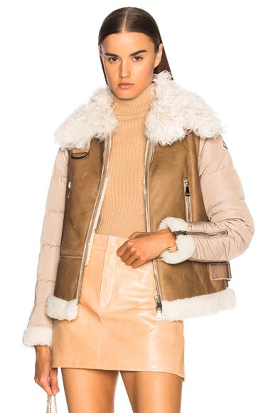 Moncler Kilia Jacket in Neutrals, Brown