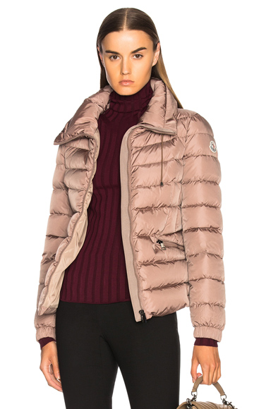 Moncler Irex Jacket in Neutrals, Pink