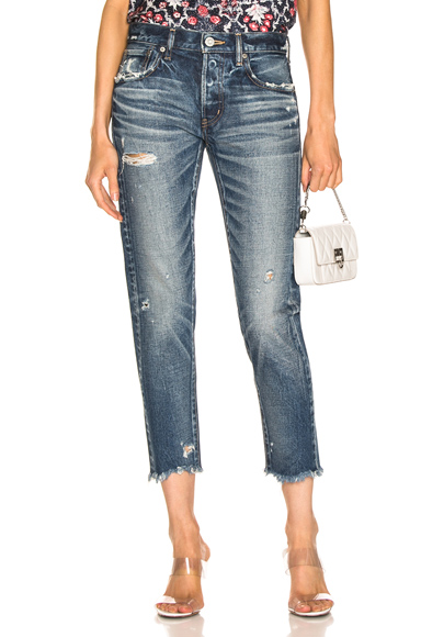 MOUSSY | Moussy Vintage Kelley Tapered In Blue. - Size 23 (Also In 25) | Goxip