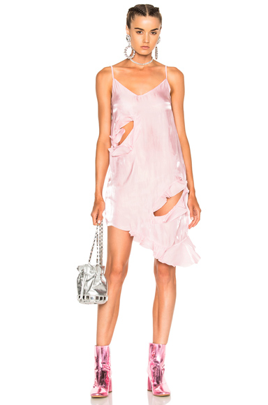 Marques ' Almeida Slip Dress in Pink