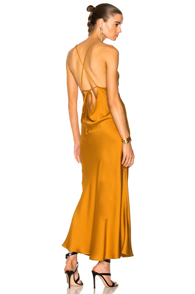Marissa Webb Trudy Slip Dress in Yellow