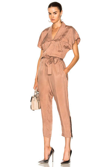 Marissa Webb Adair Jumper in Pink