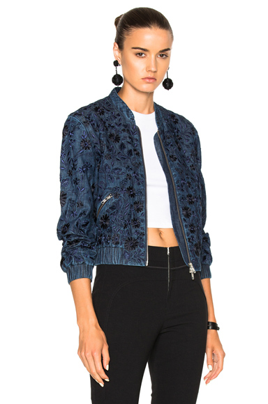Needle & Thread Wild Meadow Jacket in Blue