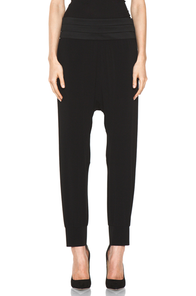 NEIL BARRETT | Loose Track Pant in Black