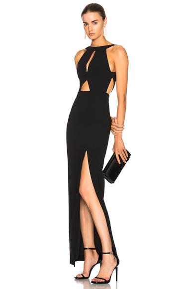 NICHOLAS Backless Dress in Black