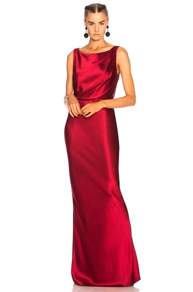 NILI LOTAN Therese Dress in Red