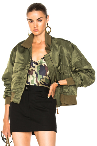 NILI LOTAN McGuire Jacket in Green