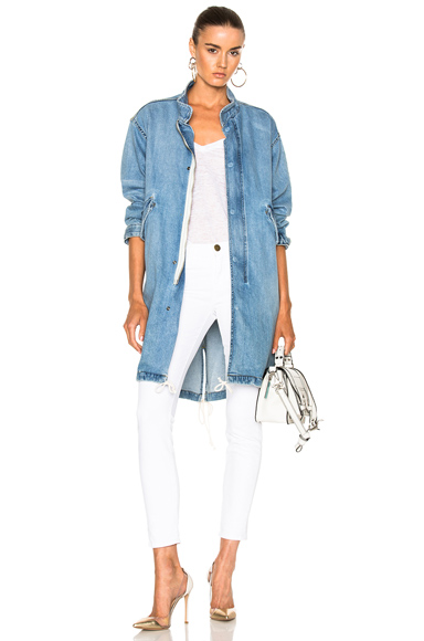 NILI LOTAN Lexington Jacket in Blue