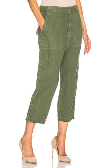 NILI LOTAN | NILI LOTAN Luna Pant In Green. - Size 6 (Also In 0,2,4) | Goxip