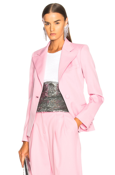 Photo of Oscar de la Renta Blazer in Pink online womens jacket sales
