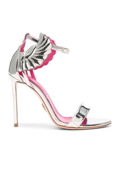 Oscar Tiye Leather Malikah Sandals in Metallics