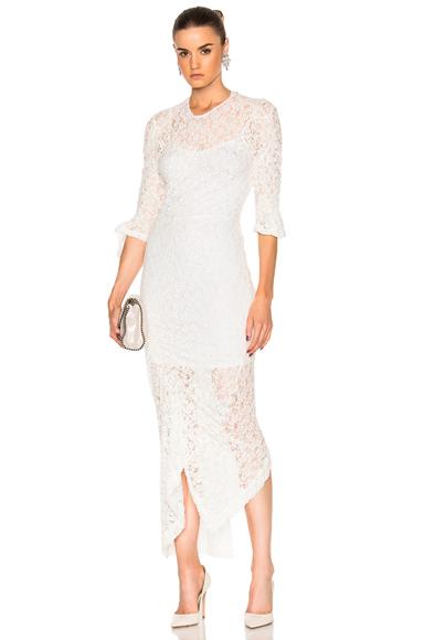 Preen by Thornton Bregazzi Piper Dress in White