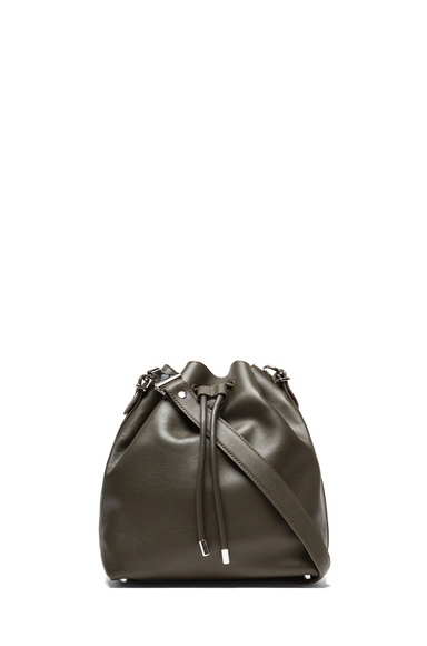 Proenza Schouler|Medium Bucket Bag in Dark Moss [1]